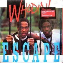 WHODINI ESCAPE RECORD 1984 8 TRKS FIVE MINUTES OF FUNK FREAKS COME OUT A... - $8.95