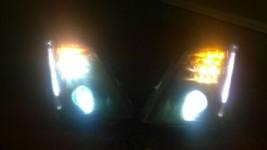 2008-2014 CADILLAC CTS DRIVER LH PASSENGER RH HID XENON HEADLIGHT  BLACK... - $395.01