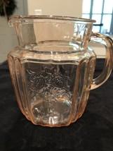 """Antique Pink Open Rose 6"""" Vintage pitcher - $18.69"""