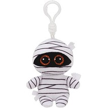 ty boos 4 9cm mummy white halloween mummy clip plush keychain stuffed ghost collection thumb200