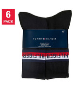 NEW Tommy Hilfiger Men's Crew Sock, 6-pair Select Color **FREE SHIPPING** - $19.99