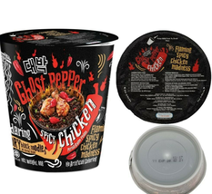 Instant Noodle 2 X 80g Ghost Pepper Spicy Chicken Cup Ramen FREE GIFT + ... - $55.80
