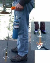 Portable Propane Torch Butane Instant Flame Spark Blow Turbo Weeds Fire ... - $69.15