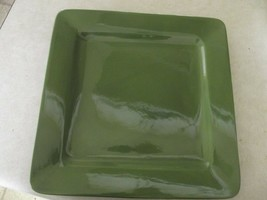 Home Cypress green dinner plate 2 available - $3.91
