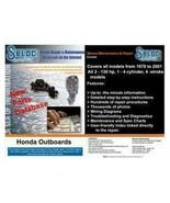 Seloc OnLine Honda Outboard Electronic Repair Service Manual - $4.38