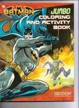 Batman Jumbo Coloring & Activity Book ~ the Chase Is On (96pgs) [Paperba... - $8.55