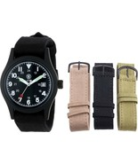 Smith & Wesson Black Water Resistant Military Interchangeable Band Watch... - $32.99