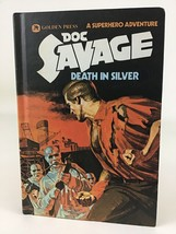 Doc Savage Death Of Silver Hardcover Book 2 Golden Press Robeson Vintage... - $24.70