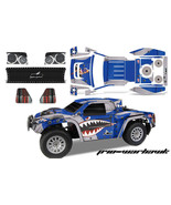 RC Body Graphics Kit Decal Sticker Wrap For Helion Dominus 10SC Truck WA... - $29.65