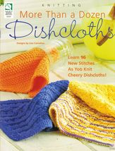 16 Knit New Stitches Cheery Dishcloths Lisa Carnahan Patterns - $13.99