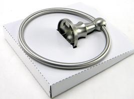 New Moen Vale Towel Ring DN4486BN in Spot Resist Brushed Nickel - $12.60