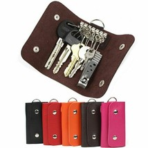 Useful New Keys Holder Organizer Manager PU Leather Holder Car Keychain ... - $3.59