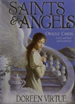 Original Saints and Angels Oracle cards by DOREEN VIRTUE 44 Cards & Guid... - $57.52
