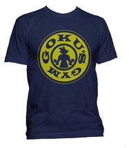 Goku's Gym #1 Men Tee S-3XL Navy T-shirt - $18.00+