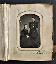 1860s antique PHOTO ALBUM lancaster pa WINTERS ZIGLER ROCKY FAMILY mccle... - $295.00