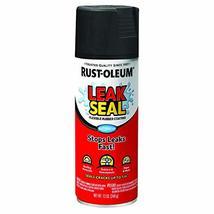 Rust-Oleum 265494 LeakSeal Flexible Rubber Coating Spray, 12 oz, Black, ... - $8.86