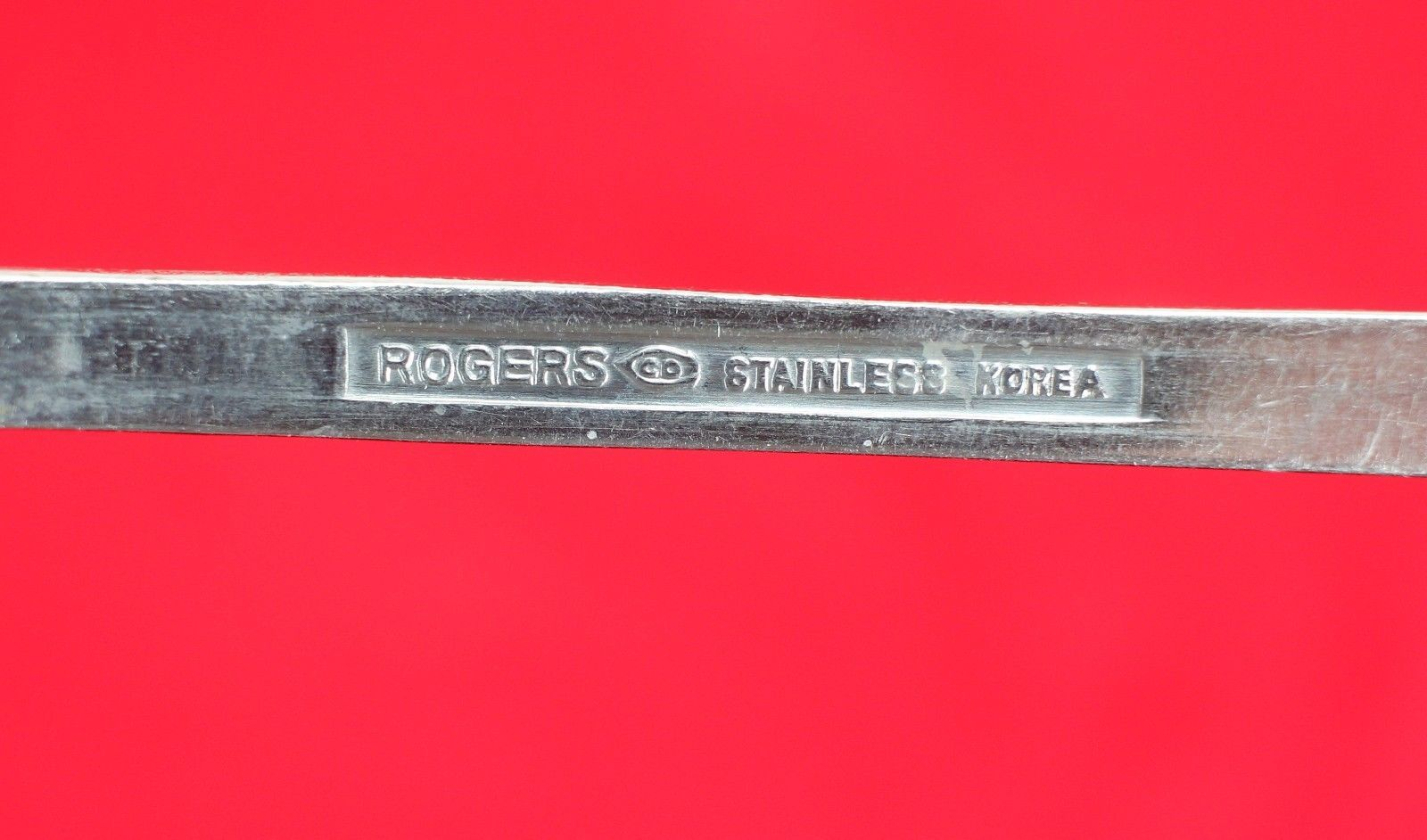 """4X Dinner Place Table Spoons FB Rogers Stainless Flat Square End Flatware 7 1/4"""""""
