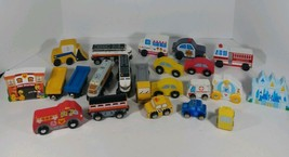 Magnetic Trains Cars And Disney Item Lot Of 22 Melissa And Doug Items To... - $34.64