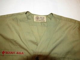 Boy Scouts of America Official Shirt boys youth short sleeve button up shirt image 2