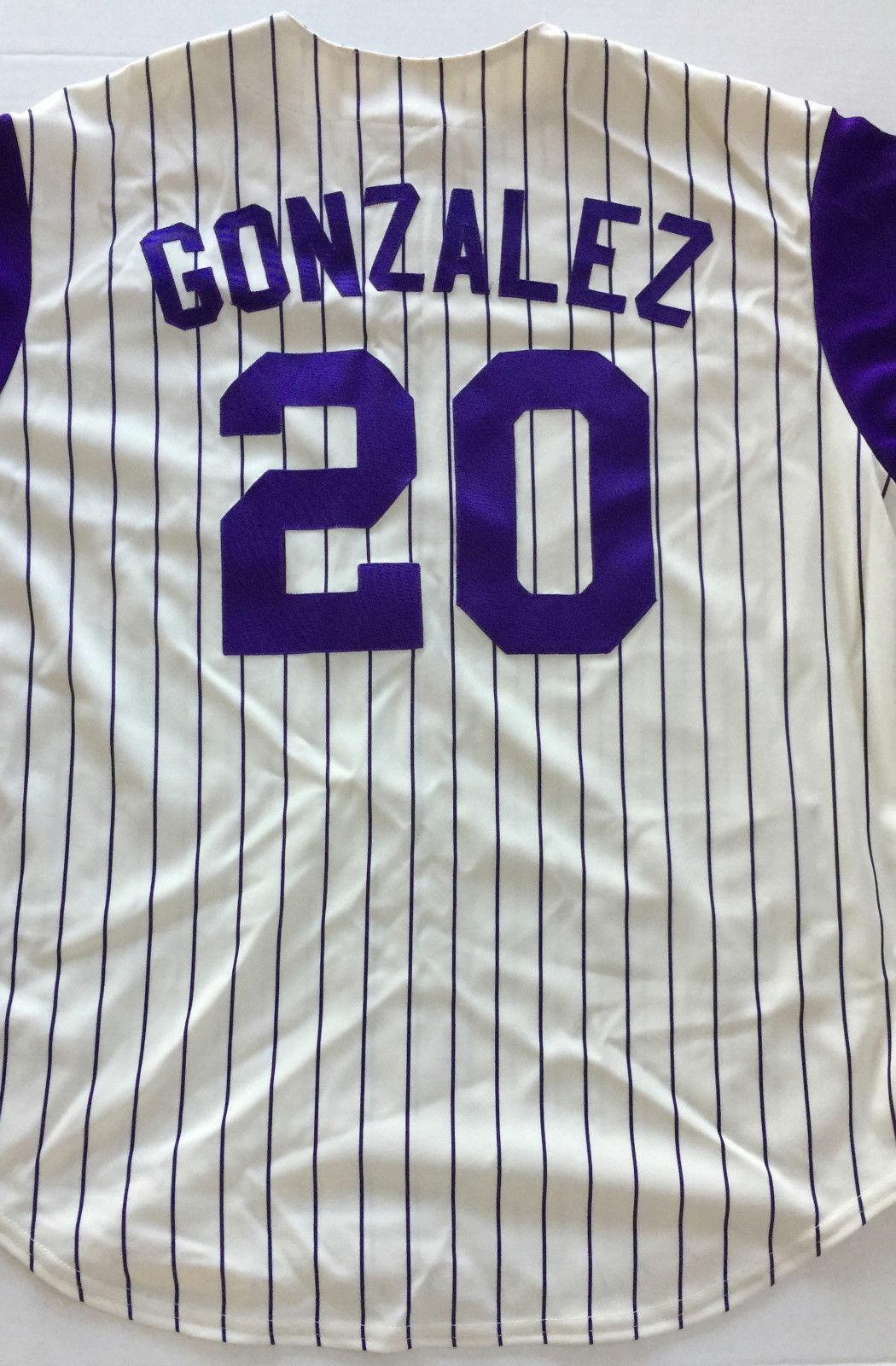 Arizona Diamondbacks Jersey Luis Gonzalez #20 World Series 2001 Gonzo Size XL