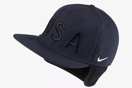 Nike Team USA Winter Olympics Pro Hat Ear Warm Blue One Size - £25.34 GBP
