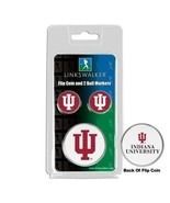 Indiana Hoosiers Flip Coin and 2 Golf Ball Marker Pack - $14.25