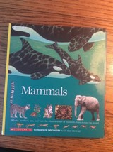 Mammals Scholastic voyages of discovery Natural History Whale Panther Ra... - $6.77