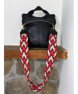 Wayuu Mochila Purse Strap Black,hot Pink And Beige Detachable As Seen Sa... - $59.00