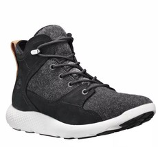MEN's SHOE TIMBERLAND FLYROAM HIKER BOOT BLACK SIZE 13M NEW - $3.023,46 MXN