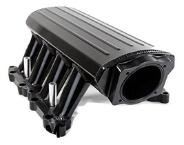A-TEAM PERFORMANCE EFI FABRICATED INTAKE MANIFOLD 11-14 Ford 5.0L COYOTE BLK
