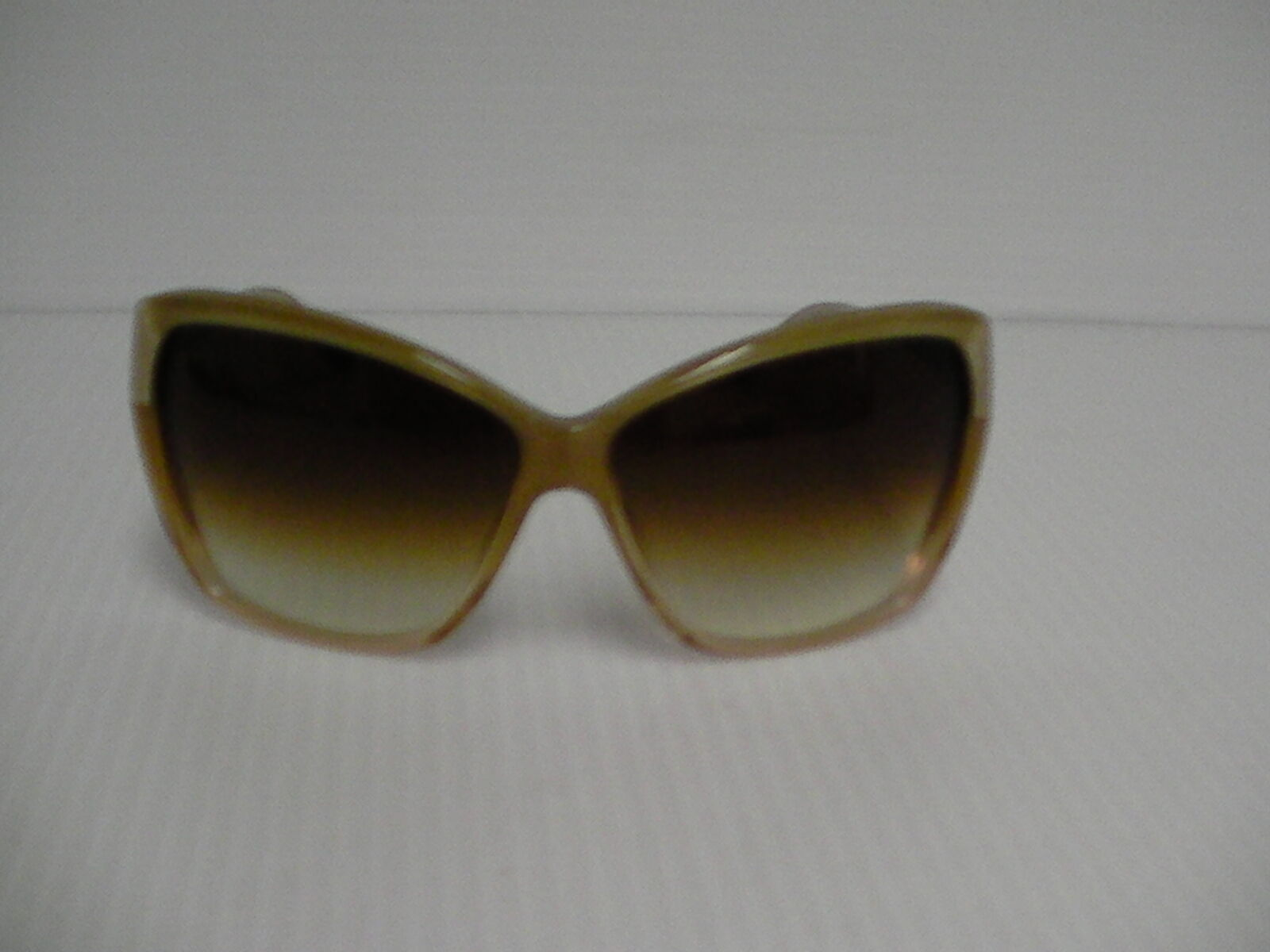 Womens OLIVER PEOPLES NEW SUNGLASSES SKYLA HAMMERED GOLD AMBER LENSE image 2