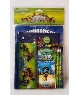 New, 11 Piece Stationary Set Back To School Skylanders Swap Force Value ... - $11.88