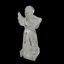 """Full Lead Crystal Angel With Harp Mikasa Herald Collection   8"""" Tall Christmas - $12.86"""