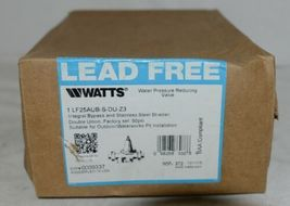 Watts 1 Inch Water Pressure Reducing Valve Integral Bypass 0009337 image 5