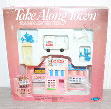 Vintage Take Along Town by Arrow 1984 Hong Kong SWEET SHOP Unused in Box - $22.44