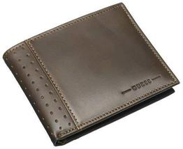 Guess Men's Passcase Billfold, Brown, One Size