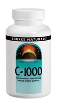 Vitamin C-1000 With Rosehips 1000mg Timed Release Source Naturals Inc. 5... - $9.79