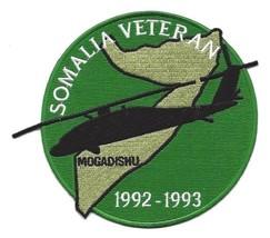 US Army Somalia Veteran 1992-1993 Mogadishu Patch Blackhawk Down Helicopter - $11.87