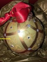 Waterford Holiday Heirlooms Christmas Ornament Mini Celtic Scroll Ball 1... - $59.99