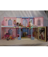 Barbie Grand Hotel + Hideaway Beds Elevator + Christmas Train Tree New B... - $243.01