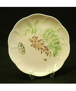"""Butterfly Meadow Eastern Tailed Blue by Lenox 9"""" Luncheon Plate Floral A... - $21.77"""