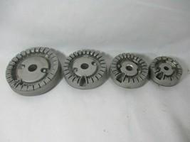 Frigidaire FGGS3045KBB Range Burner Set 316438000 316438200 316438400 31... - $30.81