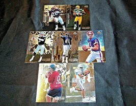 1998 Black Diamond Upper Deck Football Trading Cards ( Group of 7 ) AA20-FTC3024 image 1
