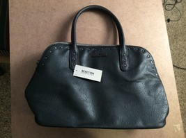 Kenneth Cole Reaction Black Zoom Dome Satchel NWT - $36.11