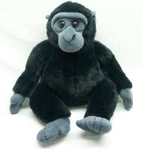 "The Petting Zoo CUTE SOFT BLACK GORILLA 10"" Plush STUFFED ANIMAL Toy - $18.32"
