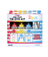 Tulip One-Step Tie-Dye Kit, Stripes, (Coral, Yellow and Sky Blue), 38 Pi... - $19.95