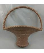 """Plastic Flower Basket Holder Wall Pocket Decoration 11"""" Burwood Products... - $12.95"""