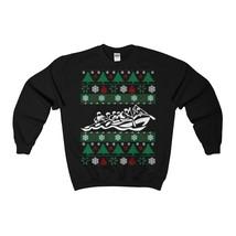 rafting ugly christmas sweatshirt - $29.95+