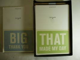 50 Hallmark Cards with Envelopes - 25 Big Thank You and 25 That Made My Day - $13.85