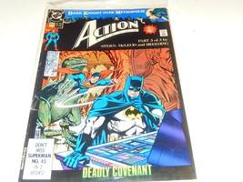 Vintage COMIC- DC- Action COMICS- Deadly CONVENANT- Jun 1990 - Exc - L96 - $3.08